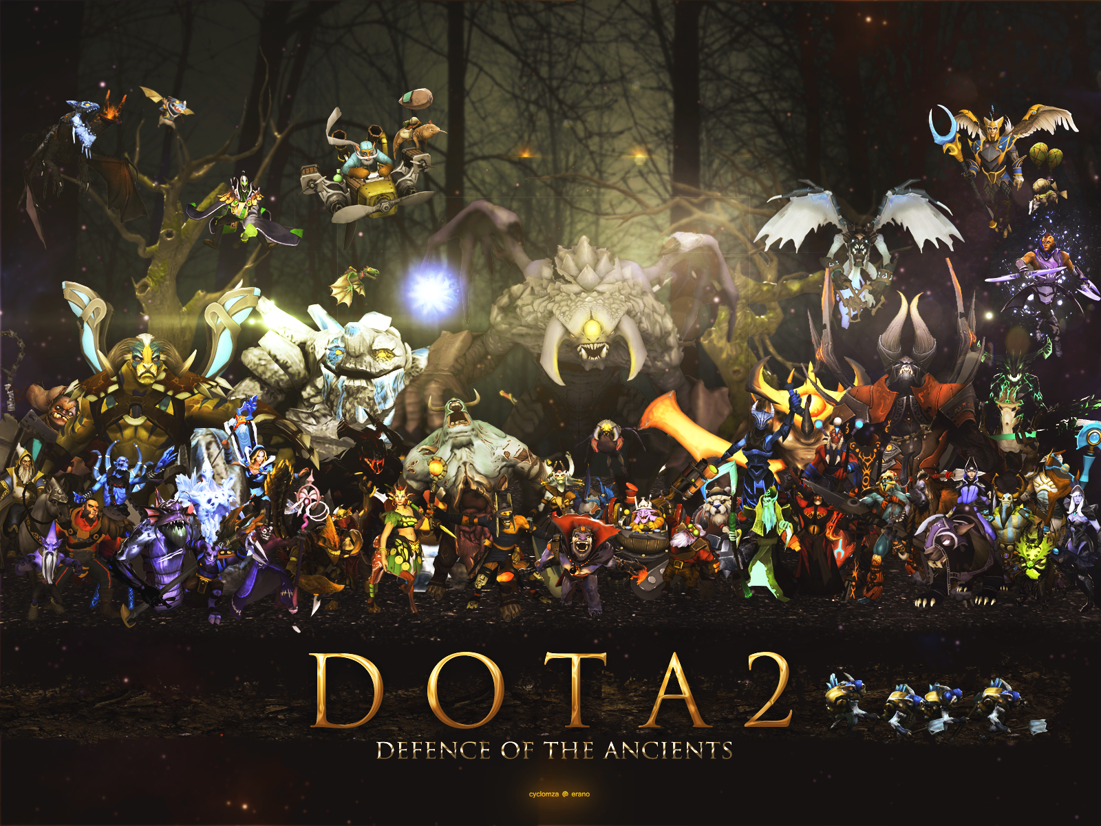 Free Download Dota 2 Wallpaper By Cyclomza 1600x1200 For Your