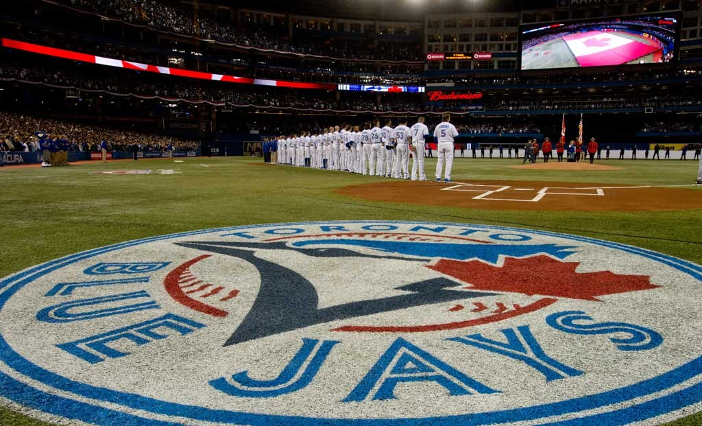 Best Toronto Blue Jays Chrome Themes Desktop Wallpapers More for 1024x621