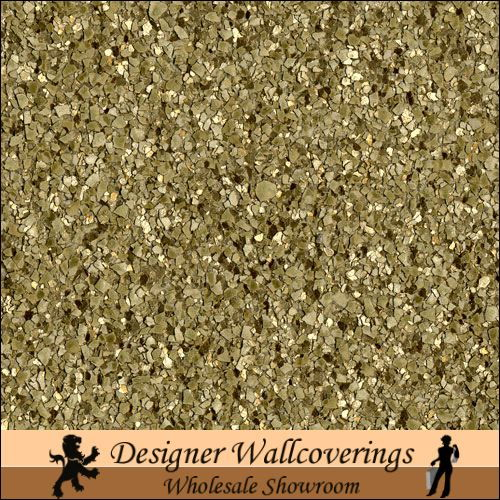 Clara House Gold Mica   [FXX   3201] Designer Wallcoverings 500x500
