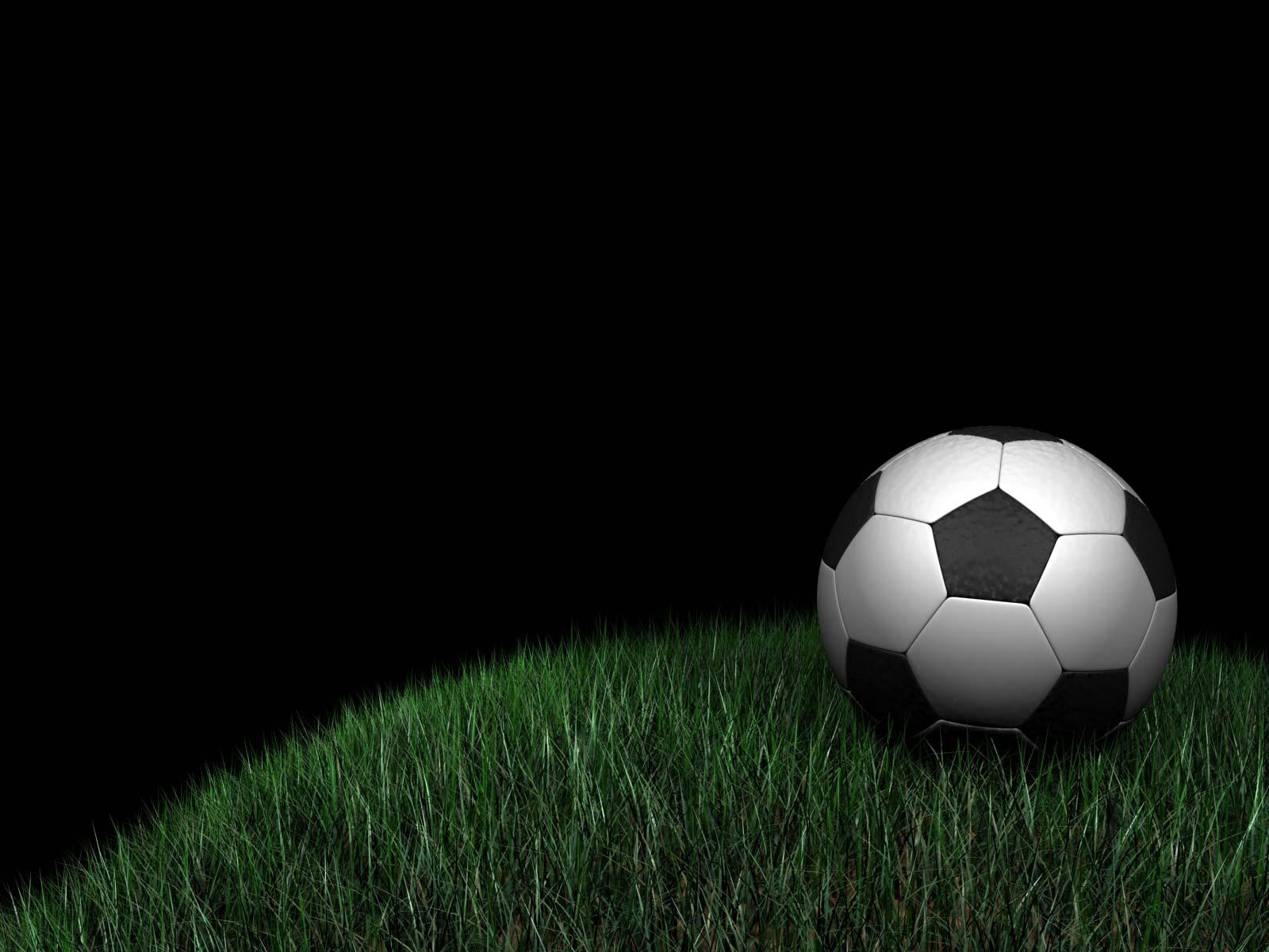 soccer ball in grassjpg   Image 1600x1200