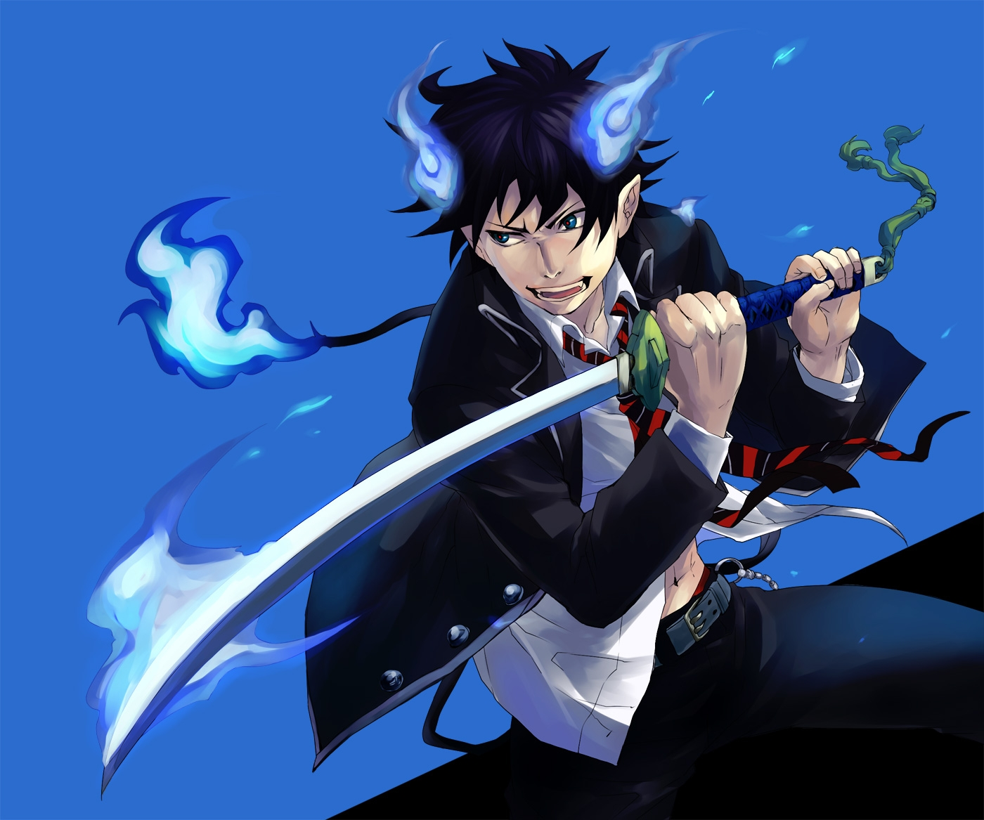 blue exorcist wallpaper   Page 2 1400x1167