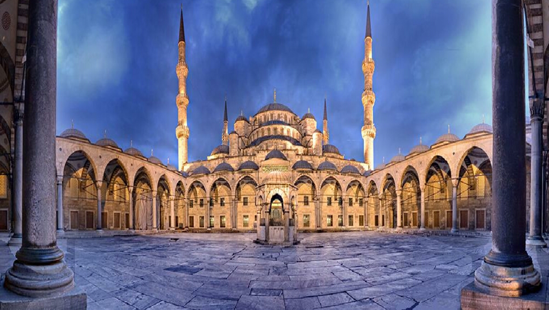 blue mosque wallpaper wallpapersafari