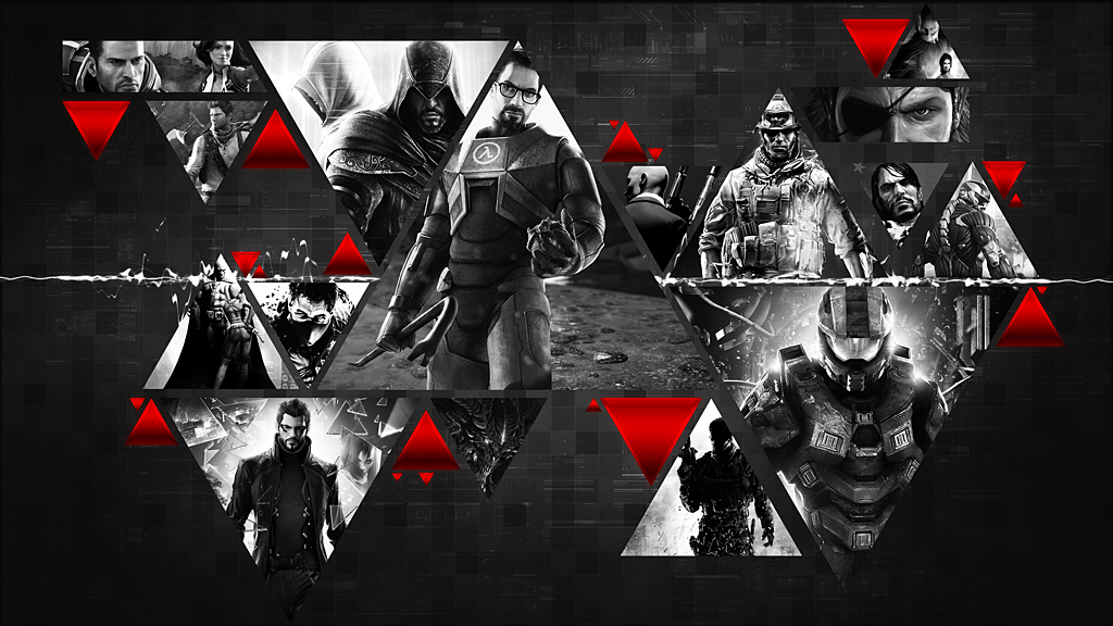 All the Games   Wallpaper by Crussong 1024x576