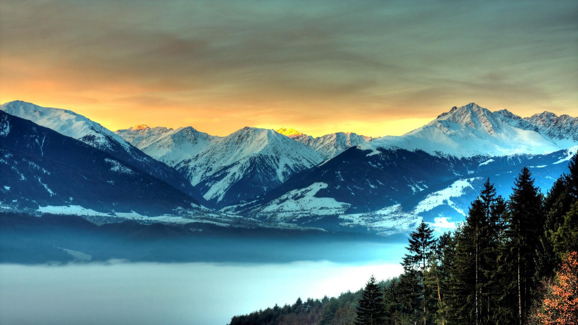 High Definition Mountain Wallpaper
