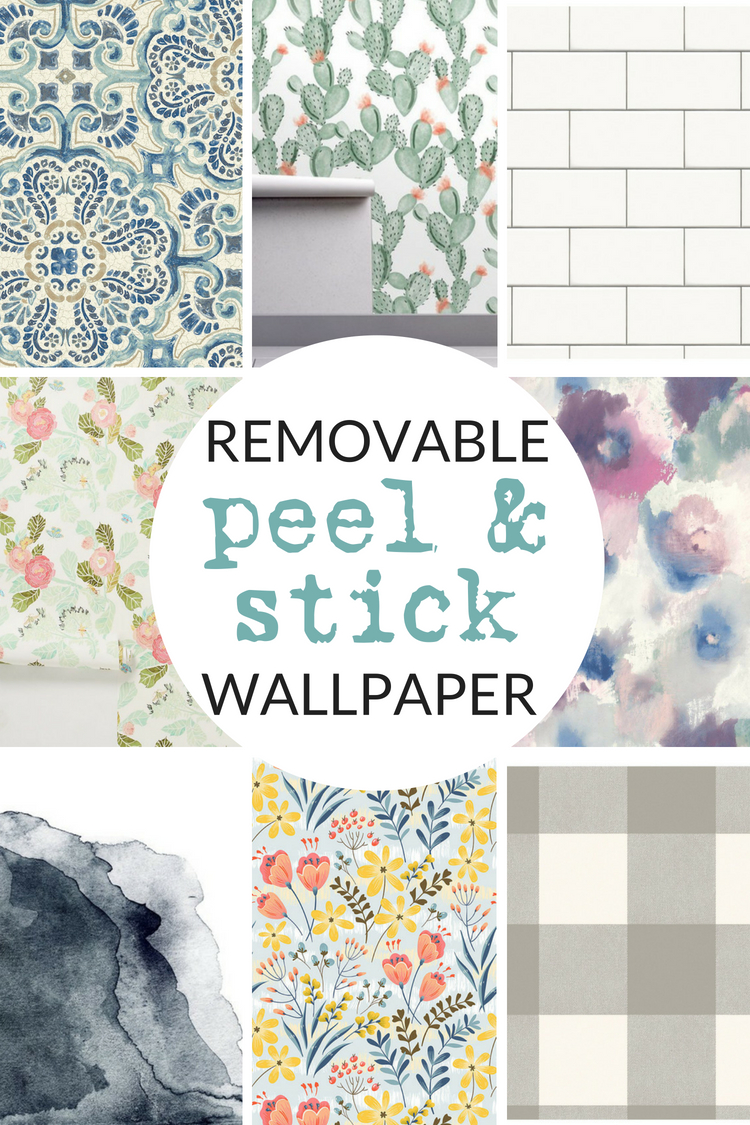 Temporary Wallpaper Shopping Guide   The Crazy Craft Lady 750x1125