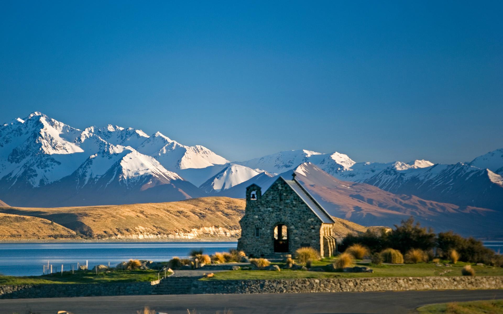 Lake Tekapo Scenery New Zealand Wallpaper is a hi res Wallpaper 1920x1200