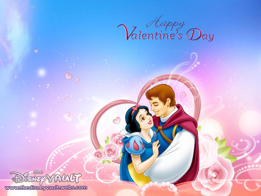 Snow White Valentine Wallpaper   Snow White and the Seven Dwarfs 1024x768