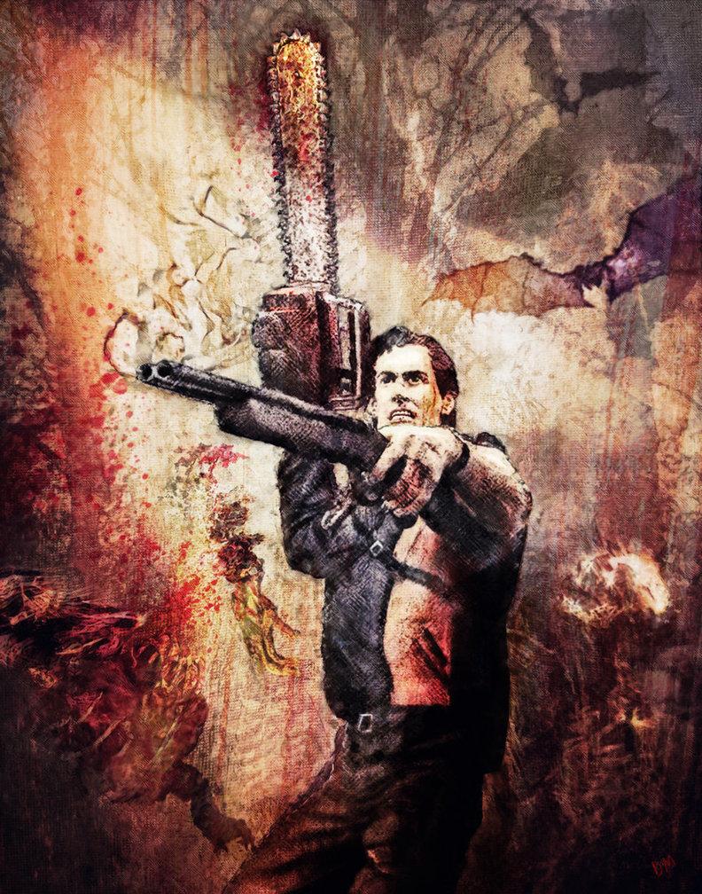 44 Ash Vs Evil Dead Wallpaper On Wallpapersafari