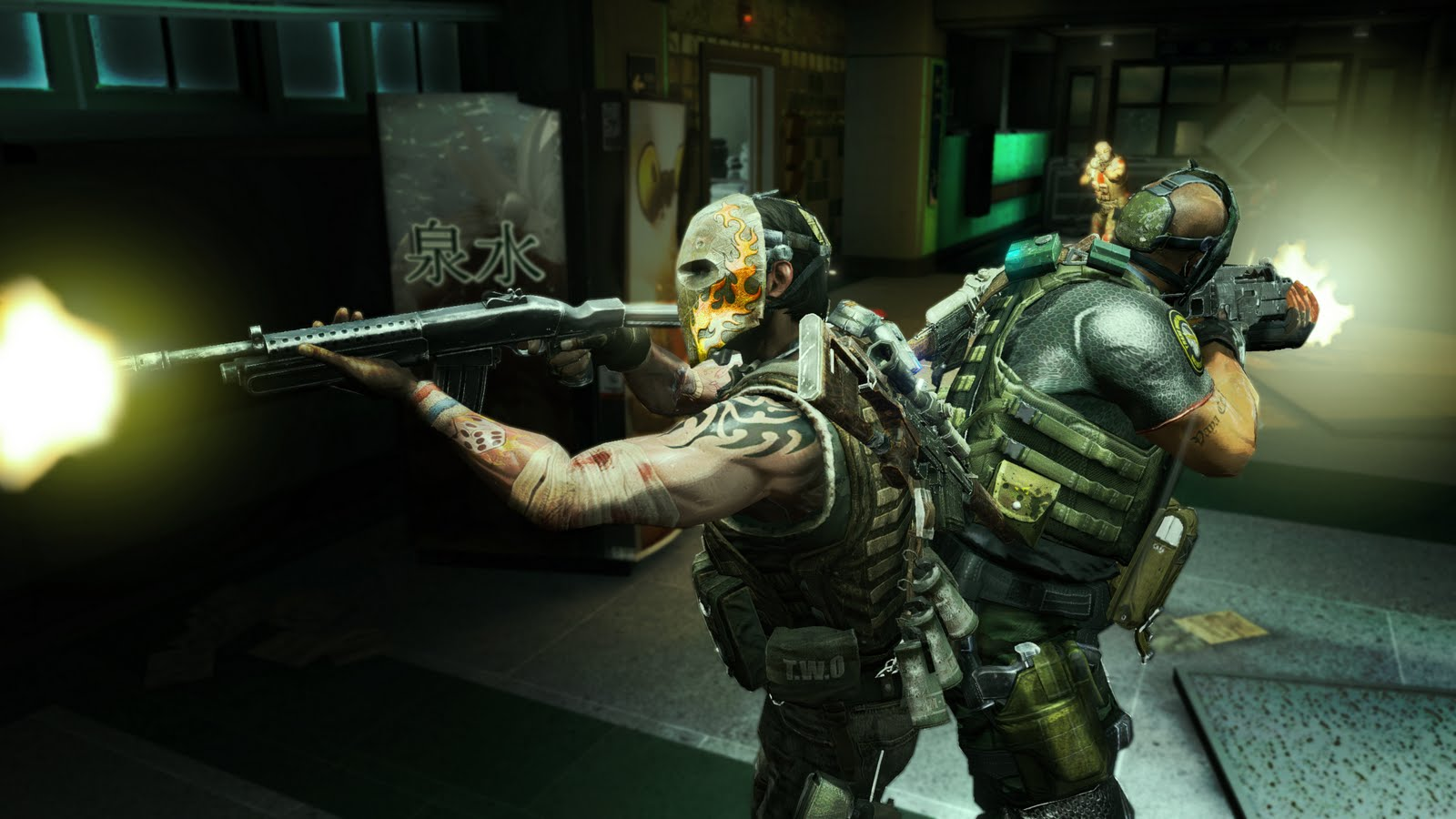Army of Two HD Wallpapers The 40th Day Desktop Wallpapers 1600x900