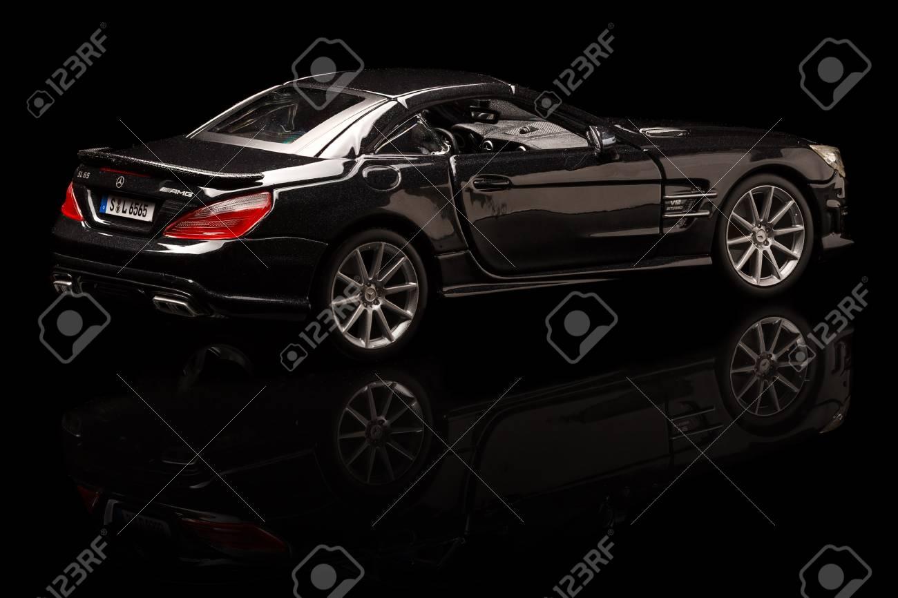 Tuttgart Germany APR 04 Mercedes SL 65 AMG On Background Saturday 1300x866