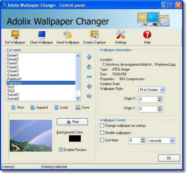 Adolix Wallpaper Changers multimedia gallery 600x556