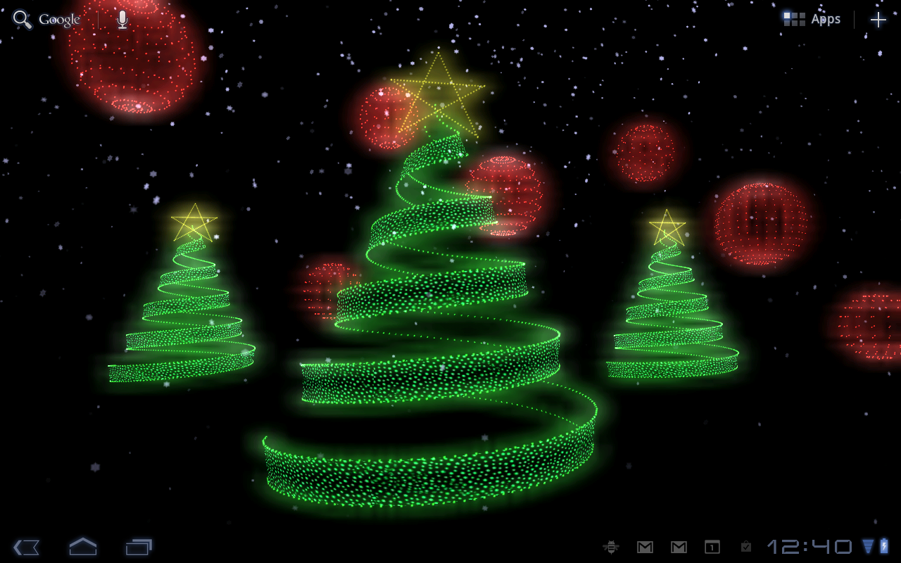 Google themes moving