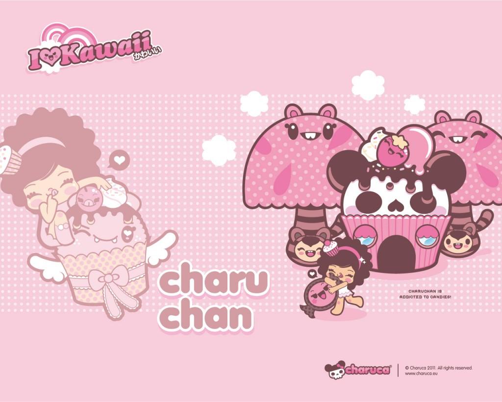 Pink Kawaii Wallpaper By Charuca Kawaii Wallpapers 1024x820