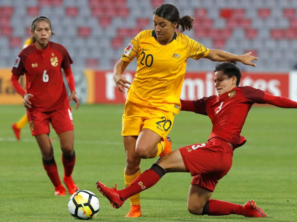 Matildas beat Thailand on penalties Asian Cup semi final result 1024x768
