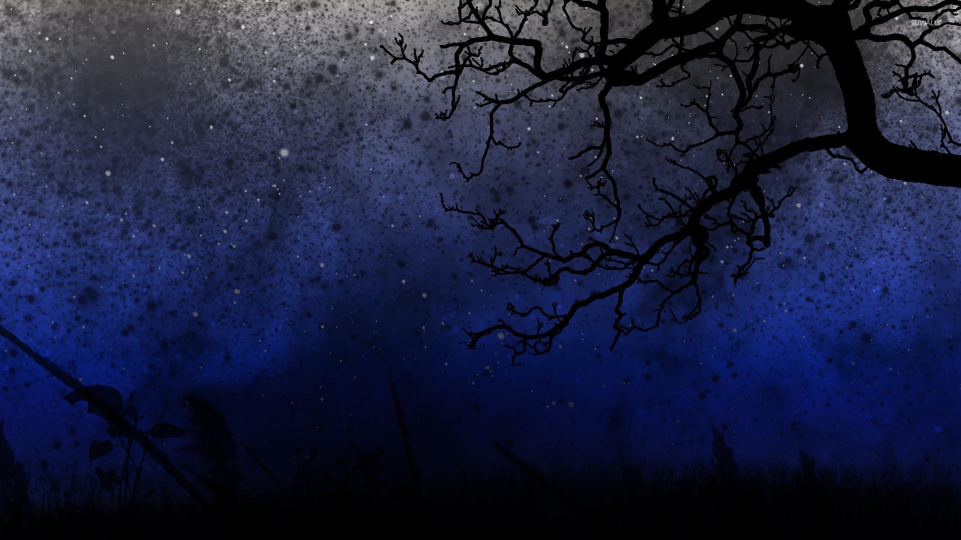 Starry night sky wallpaper   Digital Art wallpapers   15836 1680x1050
