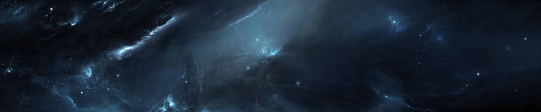 Fields of Utopia 2 - Triple Monitor Space Wallpaper ( orig00 ...