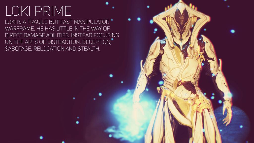 Warframe Loki Prime Wallpaper by TheSpaceKnight 1024x576