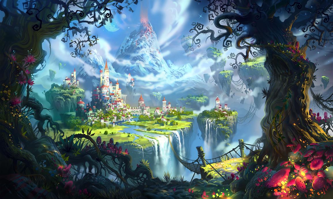 Magic Kingdom by ivany86 1155x692