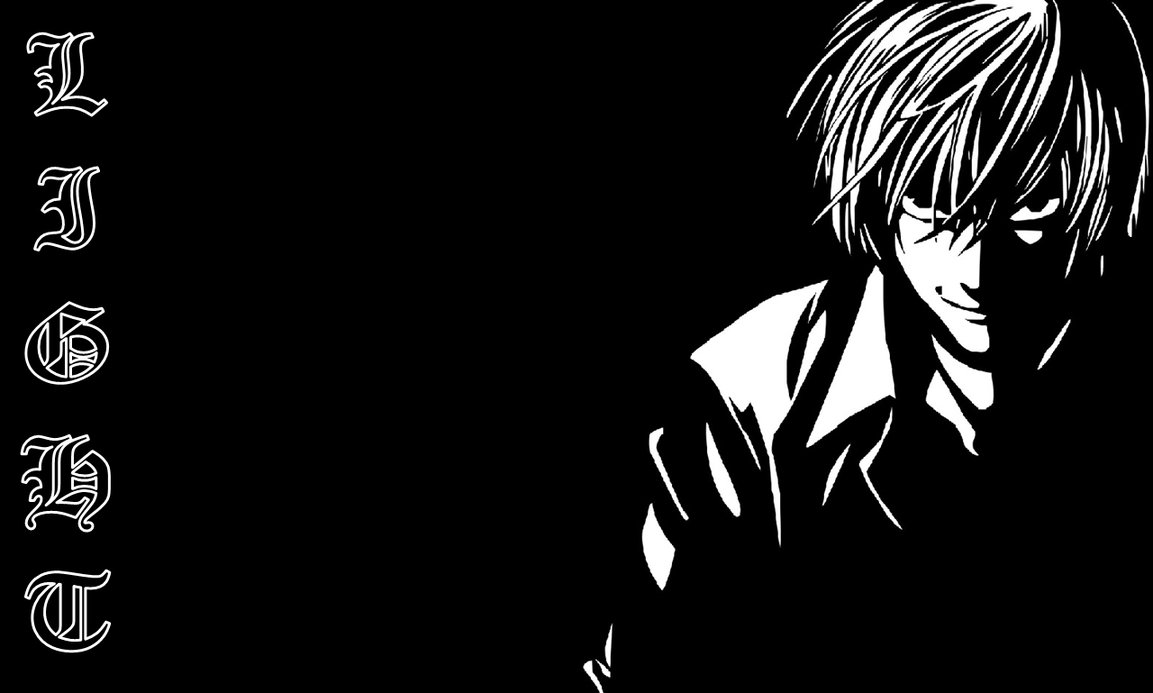 Light Yagami Wallpaper by Cerebral Delirium 1153x693