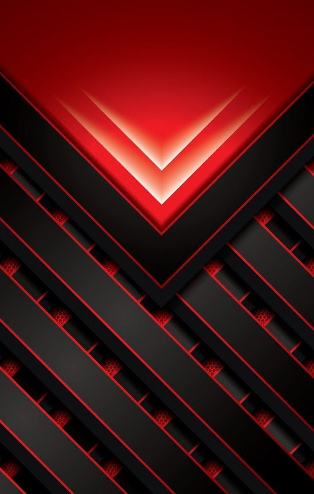 Red and Black Geometric Wallpaper With images Abstract iphone 1080x1700