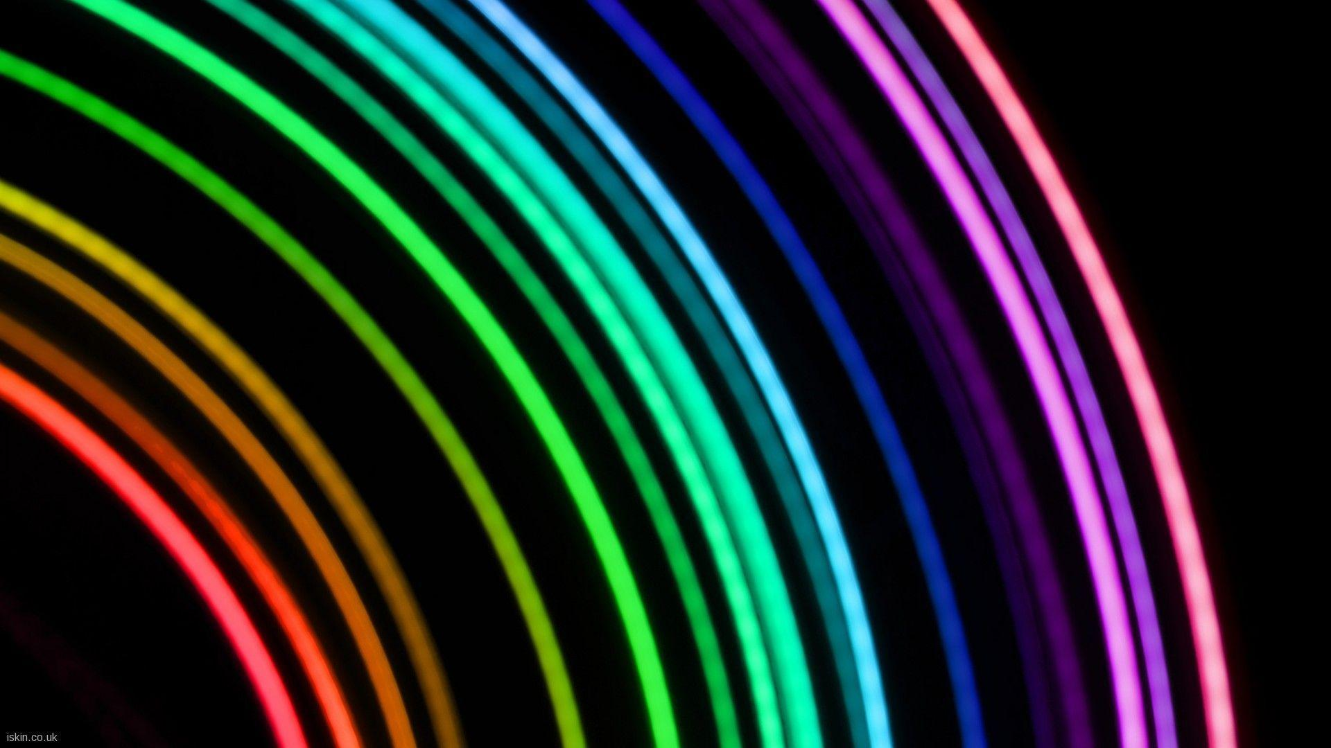 Bright Neon Backgrounds 1920x1080