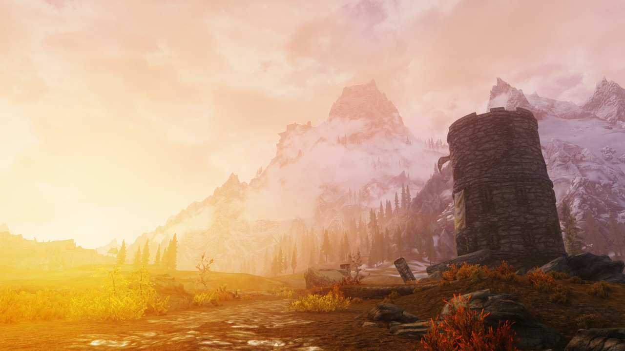Skyrim  The Playable Wallpaper at Skyrim Nexus   mods and community 1280x720