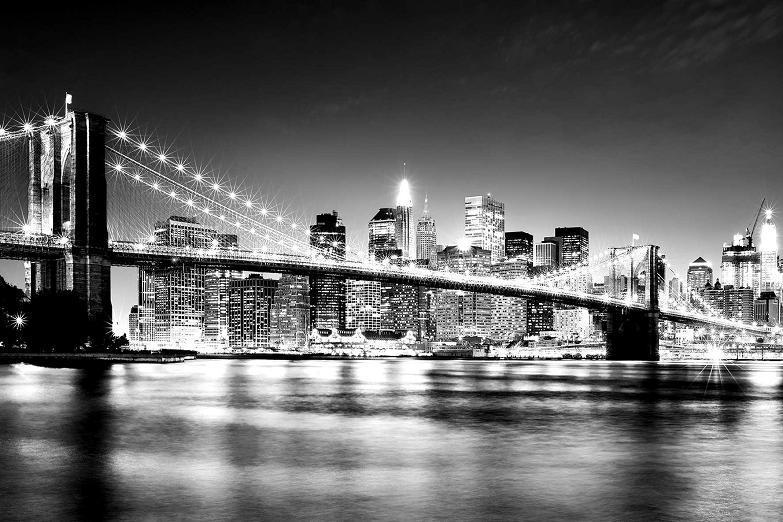 Black and White Cityscape Wallpaper - WallpaperSafari  London Skyline Black And White