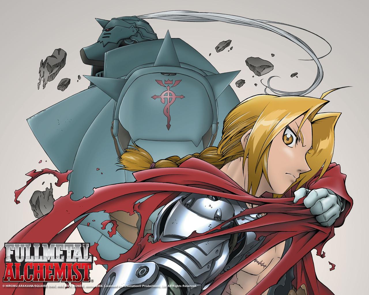fullmetal alchemist alphonse elric edward HD Wallpaper   Anime Manga 1280x1024