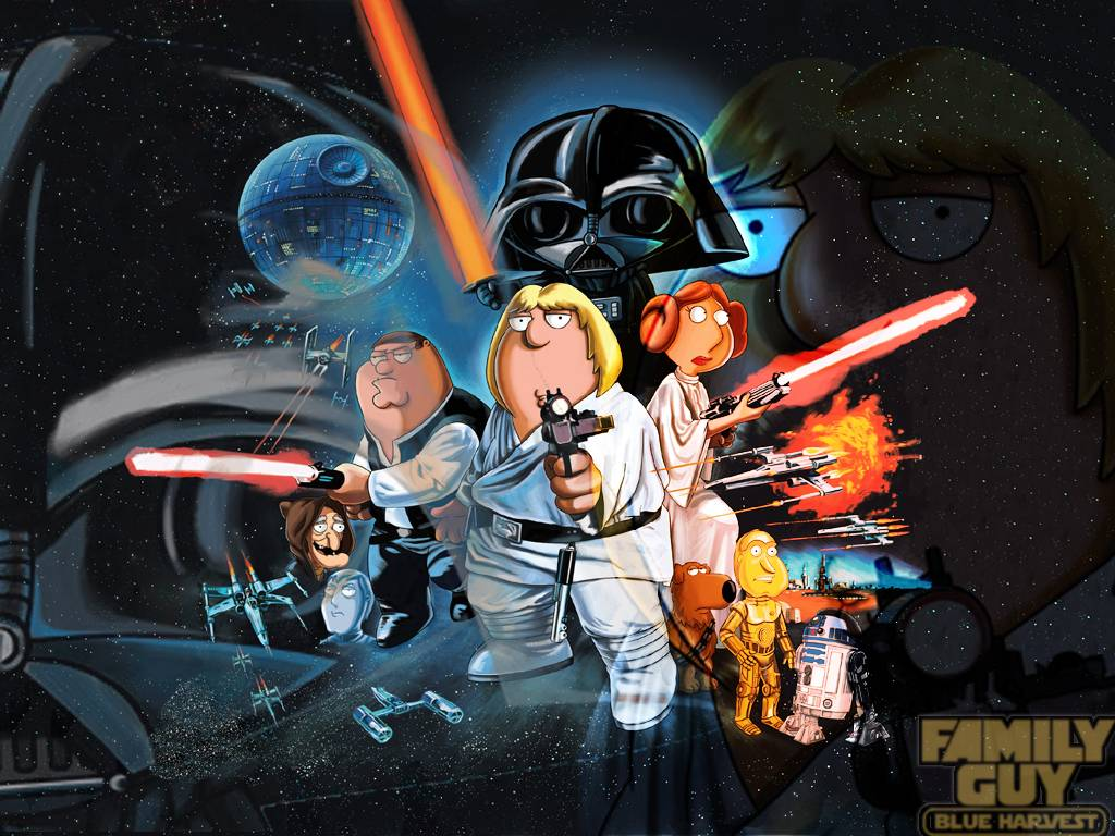 star wars family guy   Family Guy Wallpaper 1024x768