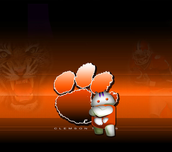 Pin Clemson Tigers Backgrounds 550x489