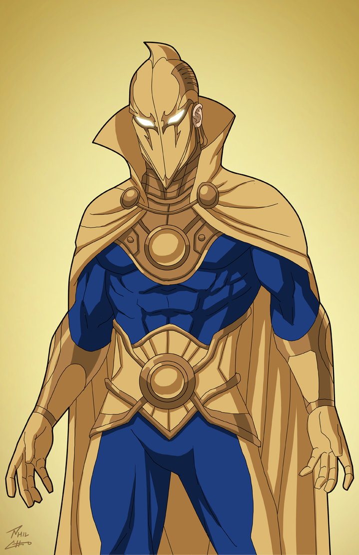 Doctor Fate Earth 27 commission by phil cho 719x1111