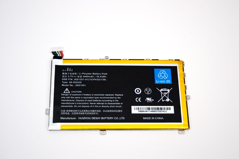 Kindle Fire Battery Replacement 800x533