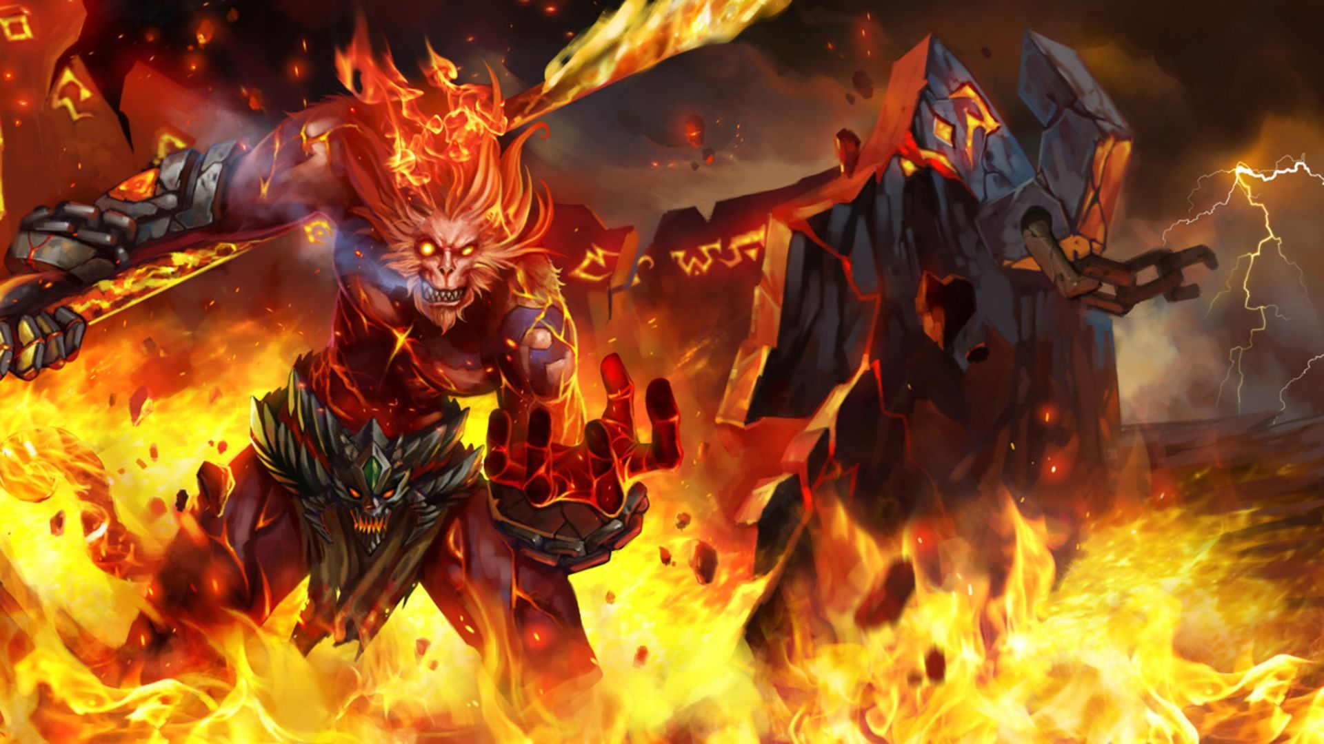Wukong   League of Legends Wallpaper   MixHD wallpapers 1920x1080