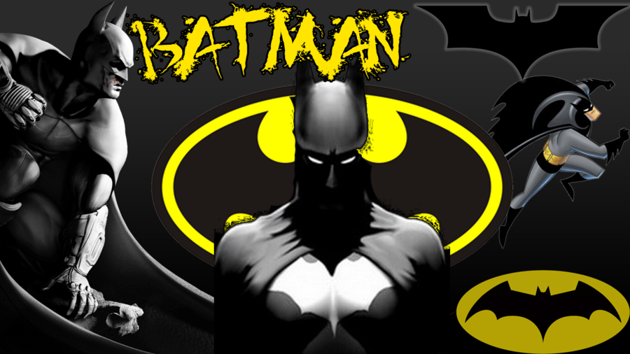 Batman desktop background by OnyxDesigns 900x506