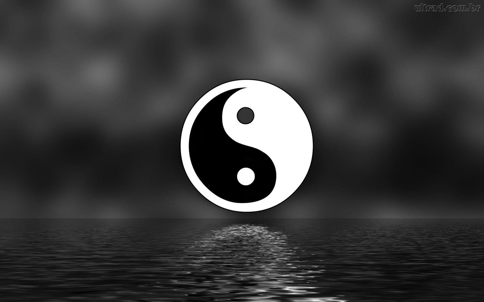 ying yang papel de parede ying ang imagens tigre branco wallpaper 1680x1050