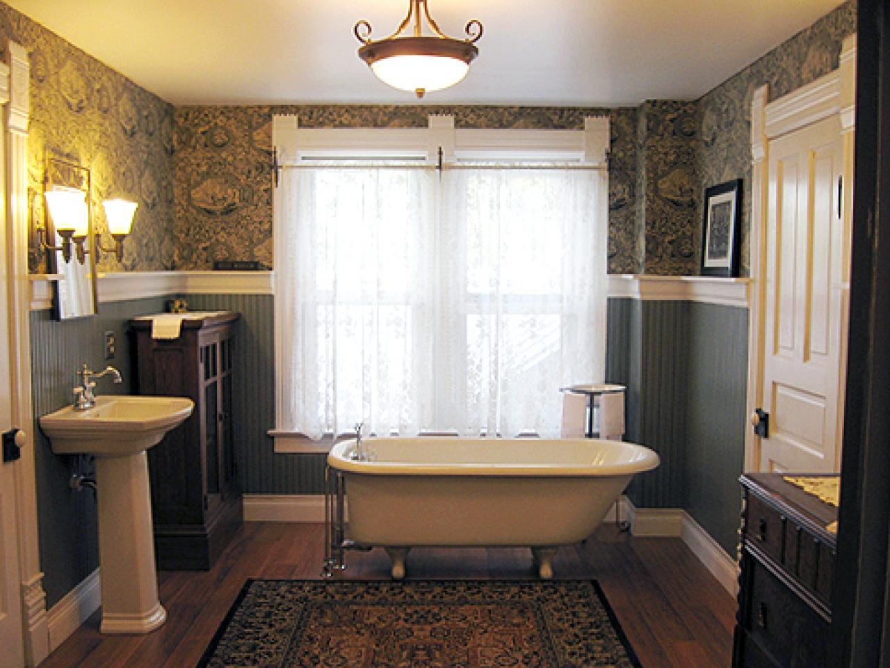 49 Victorian Wallpaper Patterns For Bathroom On