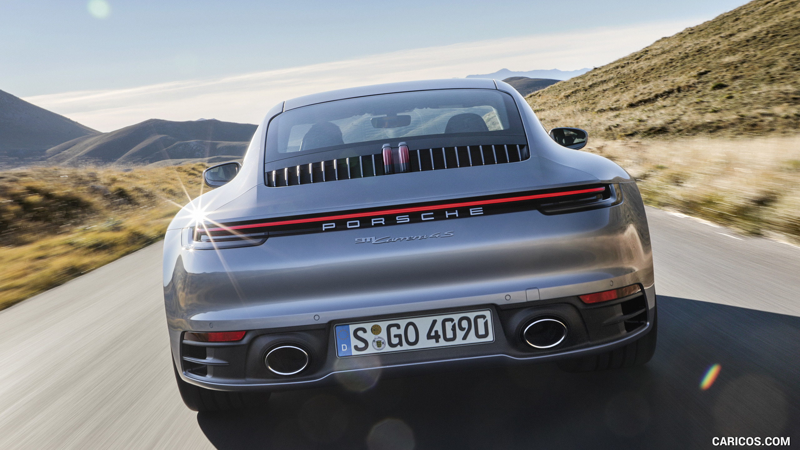 2020 Porsche 911 Carrera 4S   Rear HD Wallpaper 4 2560x1440