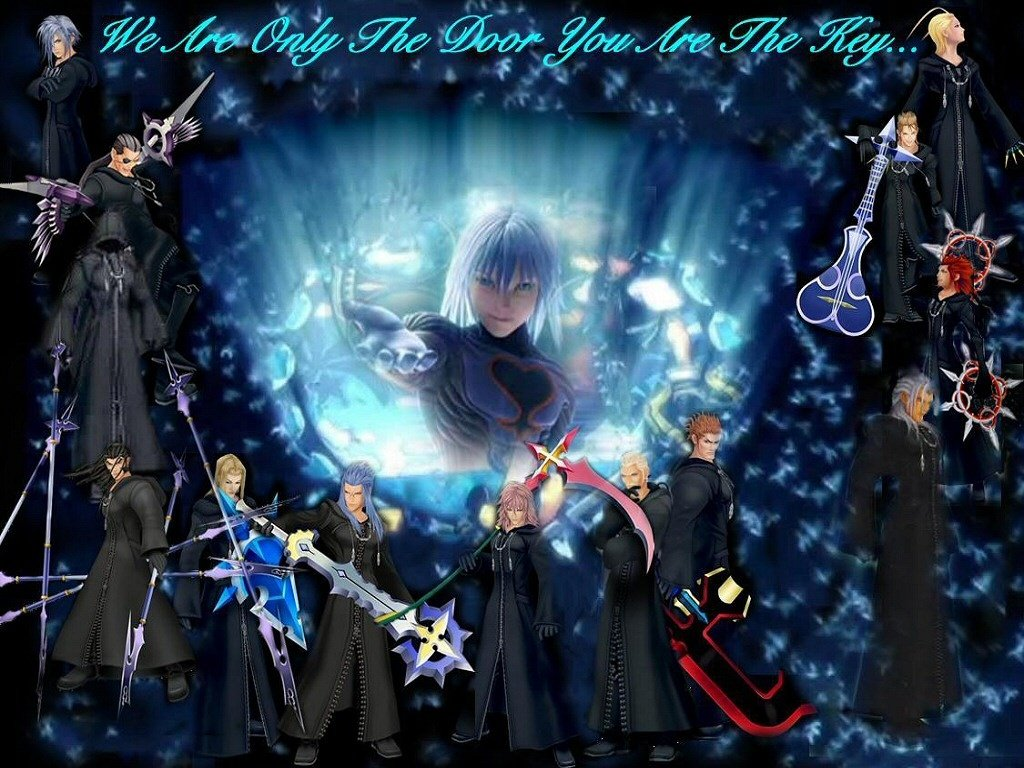 out our new Kingdom Hearts 2 wallpaper Kingdom Hearts 2 wallpapers 1024x768
