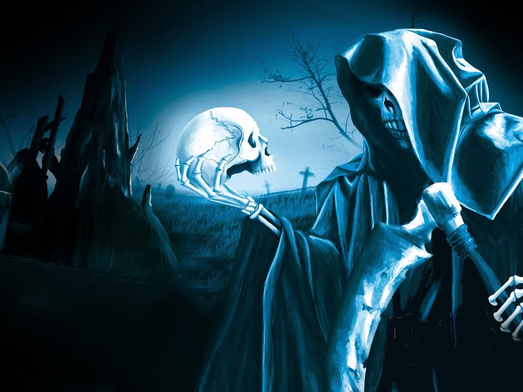 Halloween Wallpapers   mmw blog Grim Reaper Wallpapers 1024x768