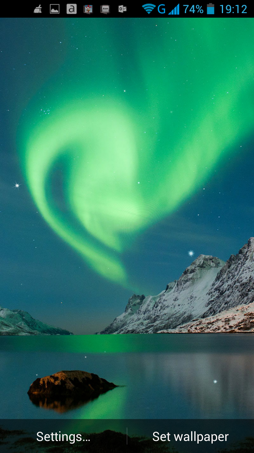 Northern Lights Live Wallpaper   Android Apps on Google Play 506x900