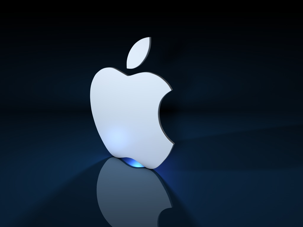1024x768px apple 3d logo hd wallpaper - wallpapersafari