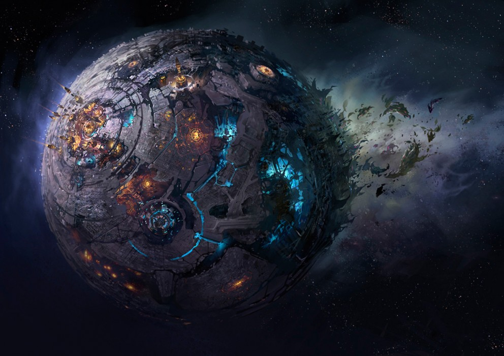 Cybertron   Sci fi SpaceCoolvibe Digital Art 992x700
