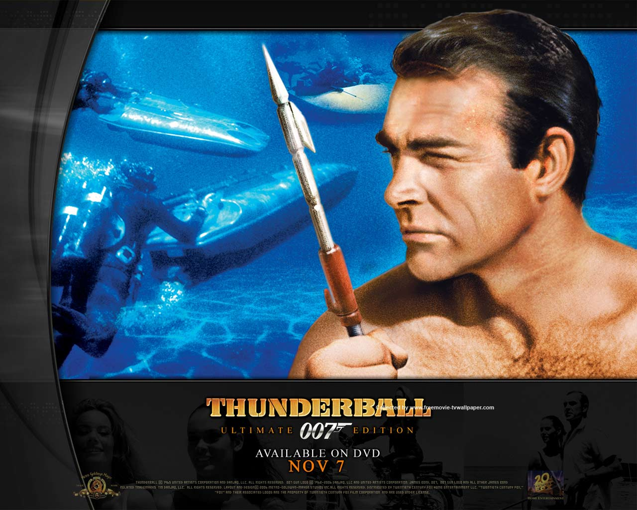 Movie Thunderball Movie Wallpaper Image Download 1280x1024