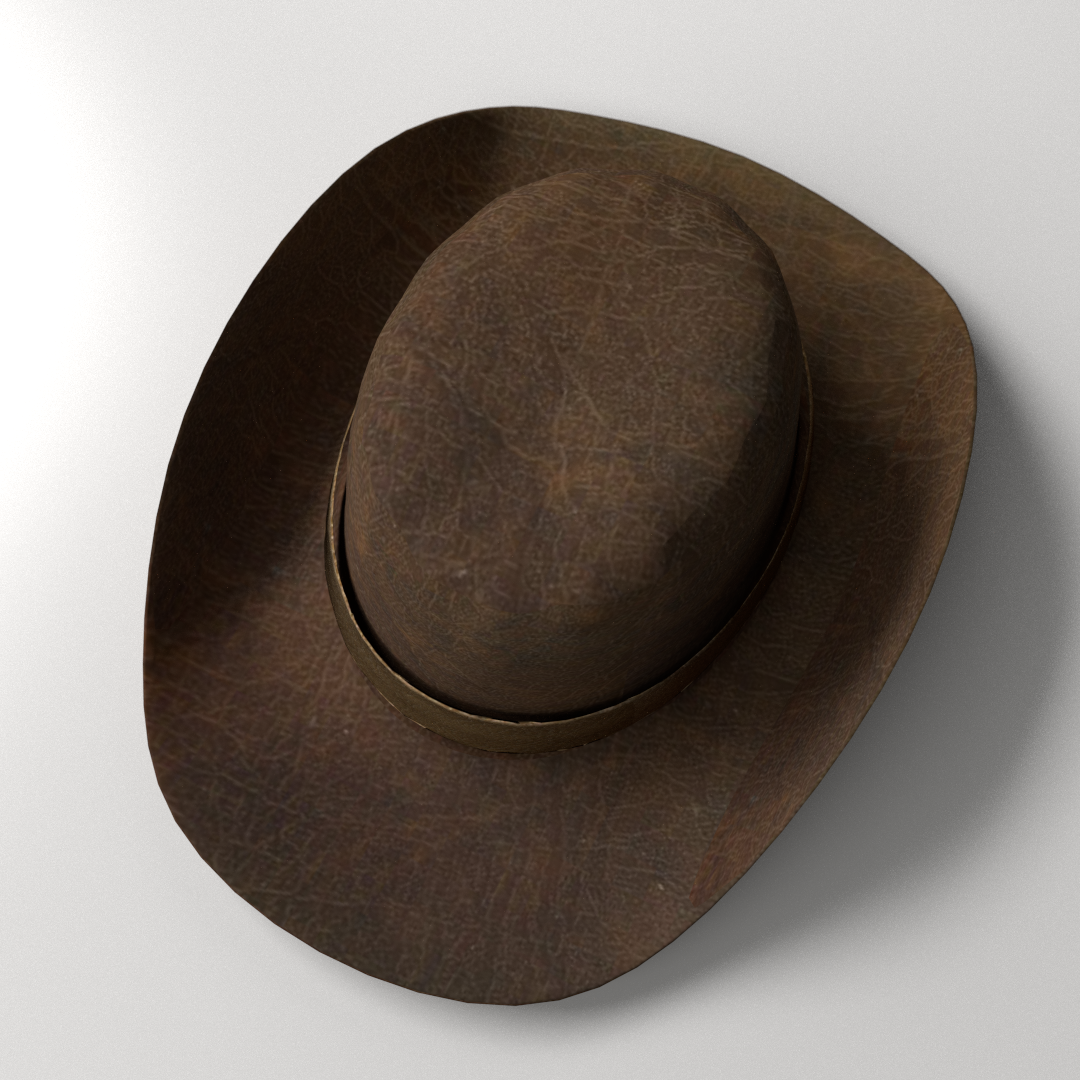 how to clean a cowboy hat