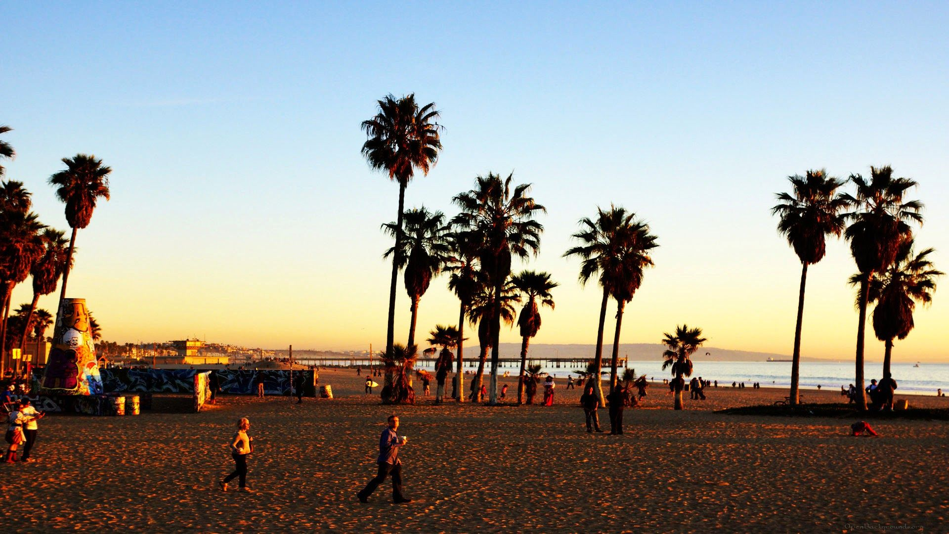 60 Venice Beach Sunset Wallpapers   Download at WallpaperBro 1920x1080
