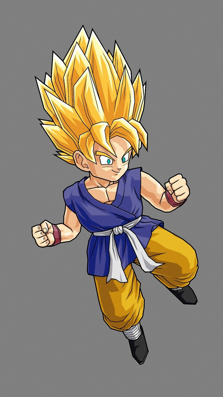 HD 750x1334 son goku iphone 6 wallpapers 750x1334