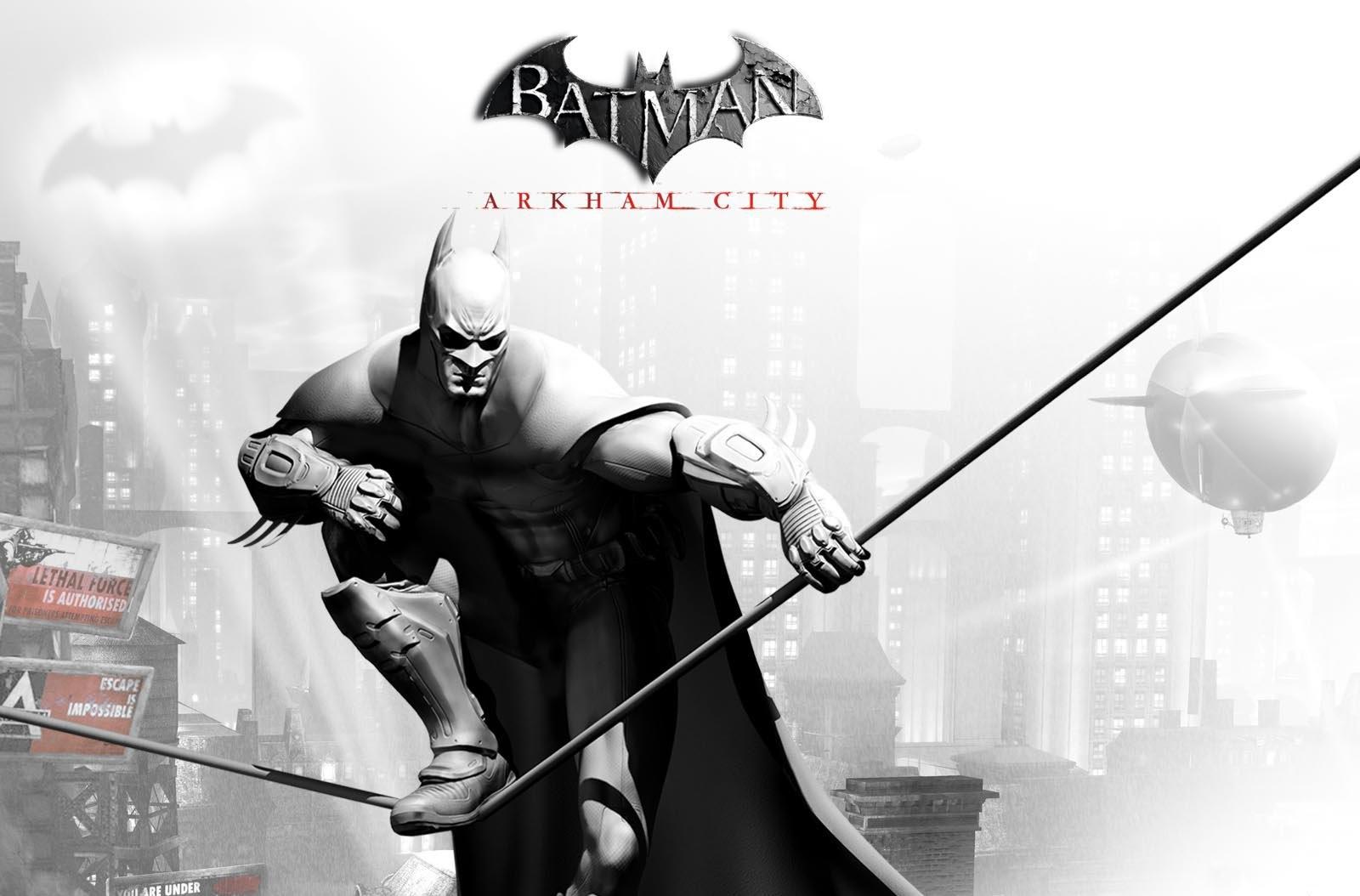 Batman Arkham City Wallpaper Arlequina: Batman Arkham City HD Wallpaper