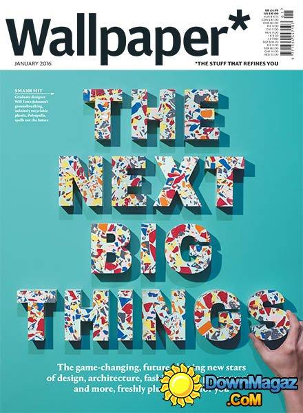 Wallpaper   January 2016 Download PDF magazines   Magazines 440x600