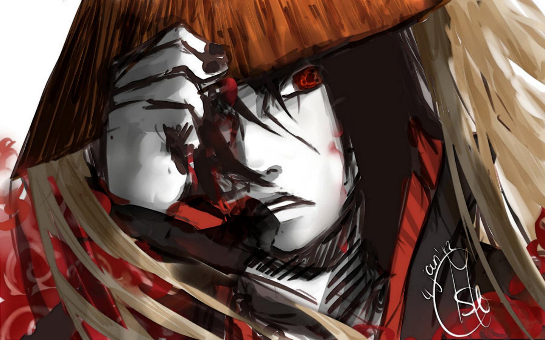 itachi uchiha sharingan eyes akatsuki anime 1440x900