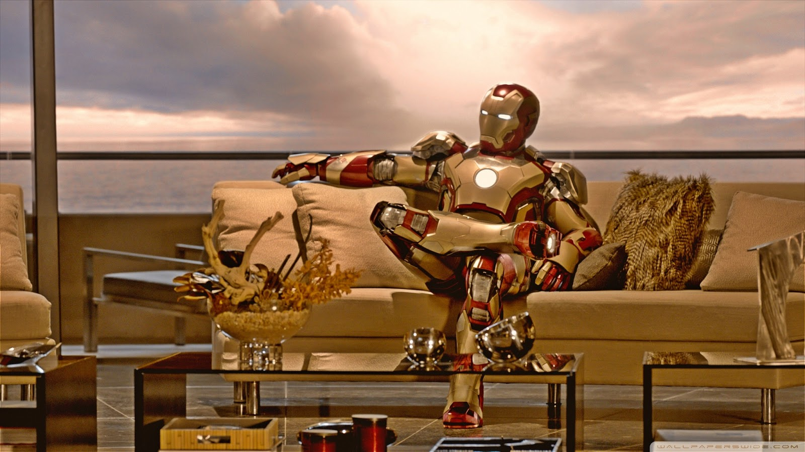 10 bellissimi Wallpapers a tema Iron Man 3 1600x900